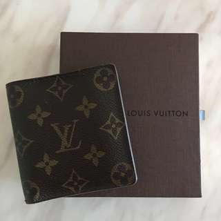 (包郵) LV Louis Vuitton Wallet 銀包