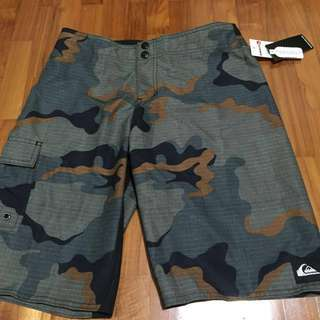 Brand New Quiksilver Swamp Stomp Board Shorts