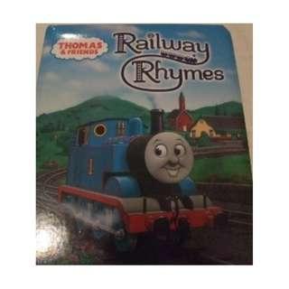 Thomas & Friends - Railway Rhymes - Hardcover Boardbook