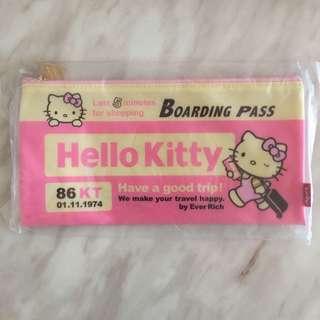 (包郵) *全新* Sanrio Hello Kitty 筆袋 化妝袋 台灣限定