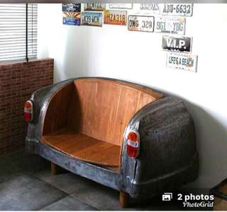 Vintage Car Couch