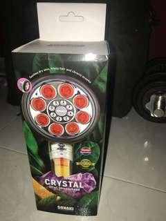 1x Sonaki CRYSTAL VitaC Showerhead For $80 Negotiable !