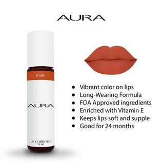 AURA LIP AND CHEEK TINT