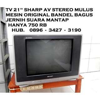 "Tv 21""Kwalitas Japan Layar Datar Ori MuLus Jernih Katapang SOREANG"