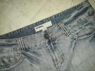 Just Jeans Mini Denim Skirt