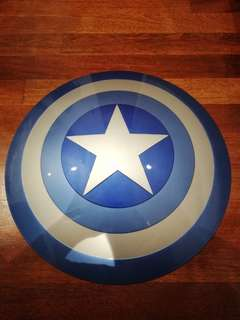 CAPTAIN AMERICA SHIELD STEALTH COLOR EDITION LIFE SIZE