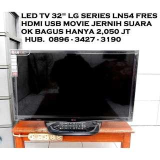 Led LG 32 Mumer Fresh Mulus Hdmi Usb LN54 series KATAPANG SOREANG