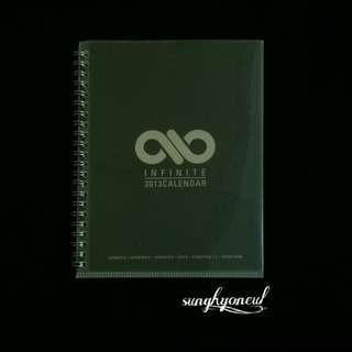 Infinite Official Season's Greetings 2013 Notebook