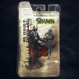 "McFarlane SPAWN Trading Figure Series 2 - HS ISSUE 1 Cover Art 3"" Hellspawn Neca"