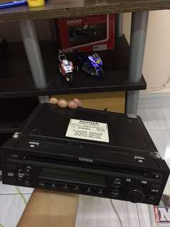 DVD Player toyota vios ncp93