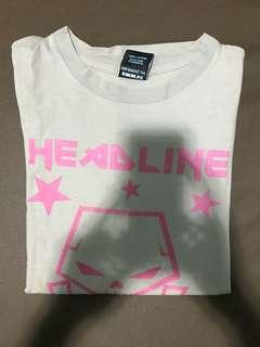 Headline Printed Tshirt Size L