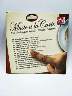 Music A La Carte (The Washington Winds)