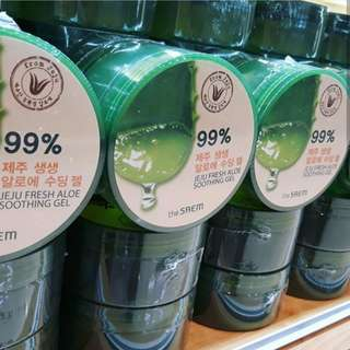 The saem aloe vera soothing gel 99%