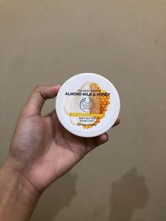 The Body Shop Almond Milk & Honey Body Butter 50ml