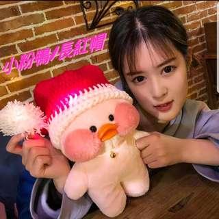 韓國網紅 IG 玻尿酸小黃鴨 玩偶公仔鴨子毛絨玩具 生日禮物 聖誕禮物