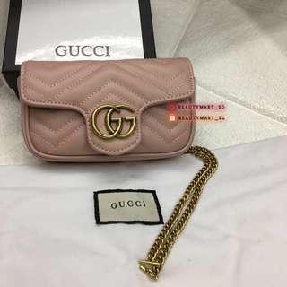 Gucci GG Marmont Matelassé Leather Mini Bag