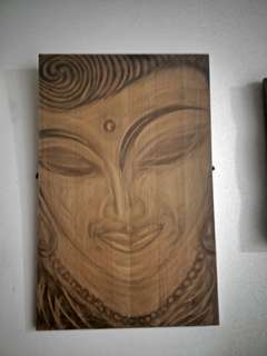 Painting Buddha Canvas