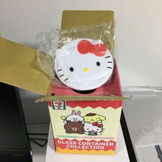 7 Eleven Glass Container Collection (Hello Kitty)