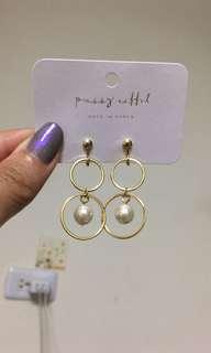 🚚 珍珠耳夾 #五十元好物
