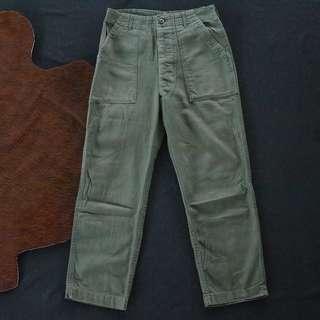 🚚 🇺🇸70s 美軍公發US ARMY OG-107越戰期間原版古董軍褲  男女皆可Vintage 歐美帶回