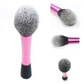 Brush blush on