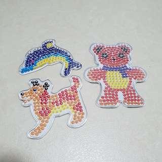 Animal Pssyla Beads 5mm board