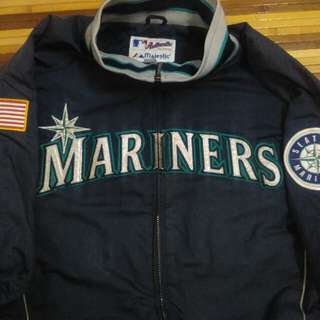 Vintage rare Seattle mariners coach jacket