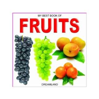 My Best Book of Fruits - Brand New