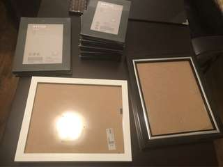 Lot of 15 picture frames