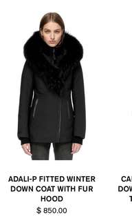 ADALI MACKAGE COAT- ALL BLACK