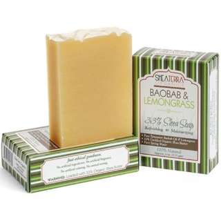 Baobab Lemongrass Regenerating + Refreshing Bath Bar (4oz / 115g)