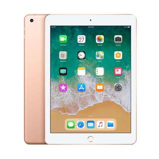 Apple New Ipad 2018 Tablet - Gold [128 GB/ 9.7 inch] Wifi Kredit Mudah