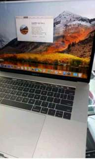 Macbook Pro MPTR2 16/256GB 15inch Kredit Mudah Touch Bar