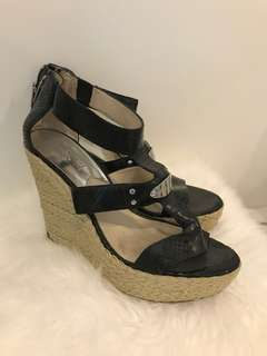 Real Michael Kors women's wedge sandals