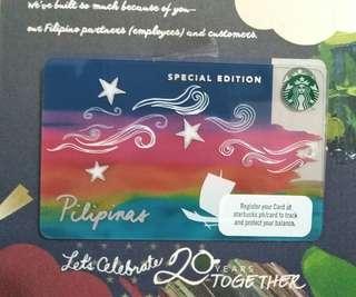 STARBUCKS 2018 limited edition card