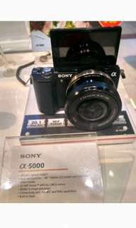 Kredit Cepat Sony A5000 Kit 16-50mm Mirrorless