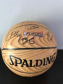 Raptors Team Signed Basketball 2015-2016