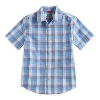 8-20號男孩襯衫也有加大的尺寸