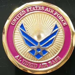 BNIB US Air Force Coin