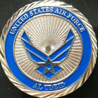 BNIB US Air Force Coin