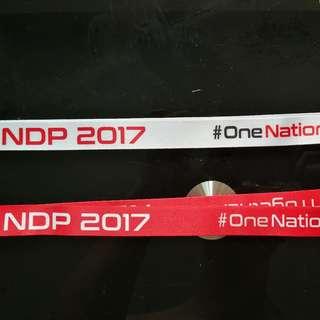 NDP 2017 lanyards