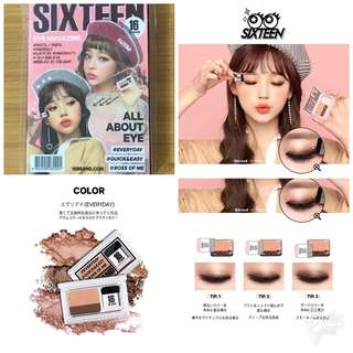 (NEW & ORI) 16 Brand Eyeshadow