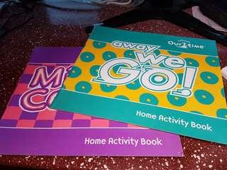 2 x Sing along books for pre pri schools