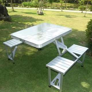 Aluminum Folding Picnic Table