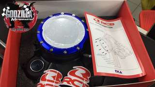 Y15ZR ENGINE CLUTCH COVER BY RACING BOY