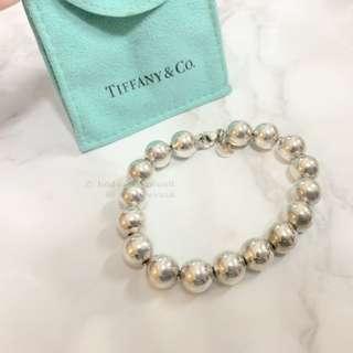 TIFFANY HARDWEAR Ball Bracelet 925 Silver 波波純銀手鍊