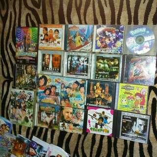Bundle of Dvd's movies & Songs