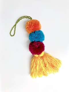 Tassel accessory for bag and home deco