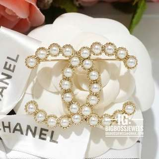Classic Gold Colour Pin Brooch