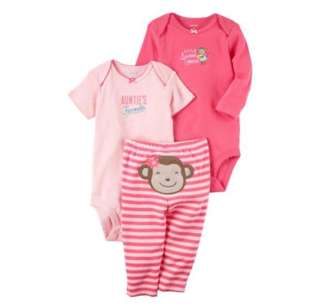 *6M* Brand New Carter's 3-Piece Little Character Set For Baby Girl